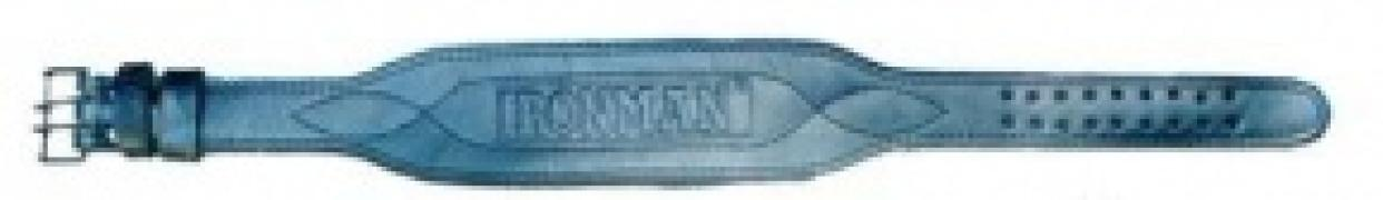 Ремень кожаный IRONMAN 2-х слойный широкий K10