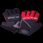 Перчатки Gel Shock черно-красные