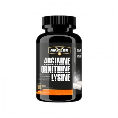 Maxler Arginine Ornithine Lysine
