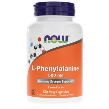 NOW L-Phenylalanine 500 mg