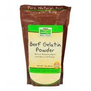 NOW Beef Gelatin Powder