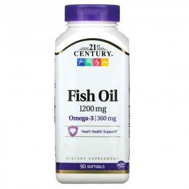 21st Century Fish Oil 1200 mg