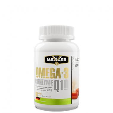 Maxler Omega-3 Coenzyme Q10 1000 mg