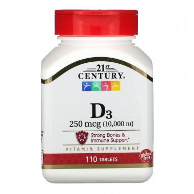 21st Century D3 250 mcg
