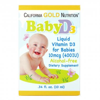 California Gold Nutrition Baby D3
