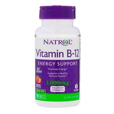 Natrol Vitamin B-12 5000 mkg Fast Dissolve