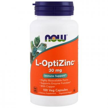 NOW L-OptiZinc® 30 mg