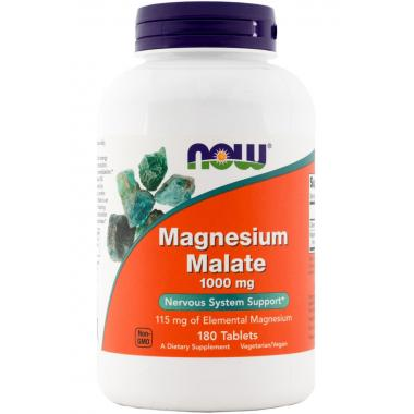 NOW Magnesium Malate 1000 mg