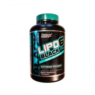 Nutrex Lipo-6 Black Hers INTL