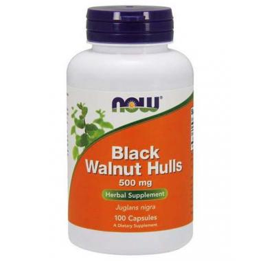NOW Black Walnut Hulls 500 mg