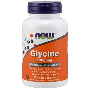 NOW Glycine 1000 mg