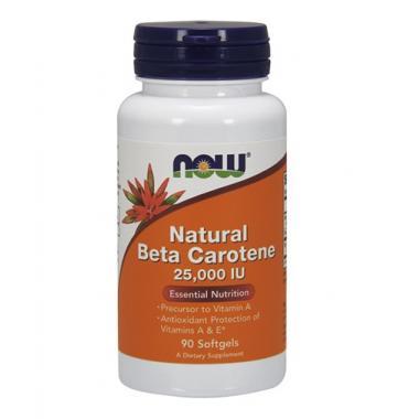 NOW Natural Beta Carotene 25000