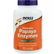 NOW Papaya Enzymes Chewable
